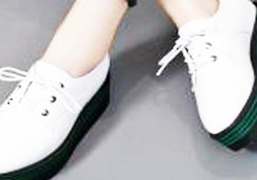 厚底松糕鞋