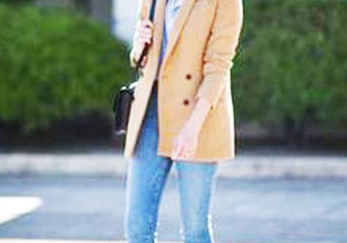 西装搭配牛仔裤
